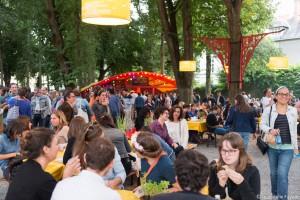 Au heures d'été au Cours Saint Pierre le 14 juillet 2016